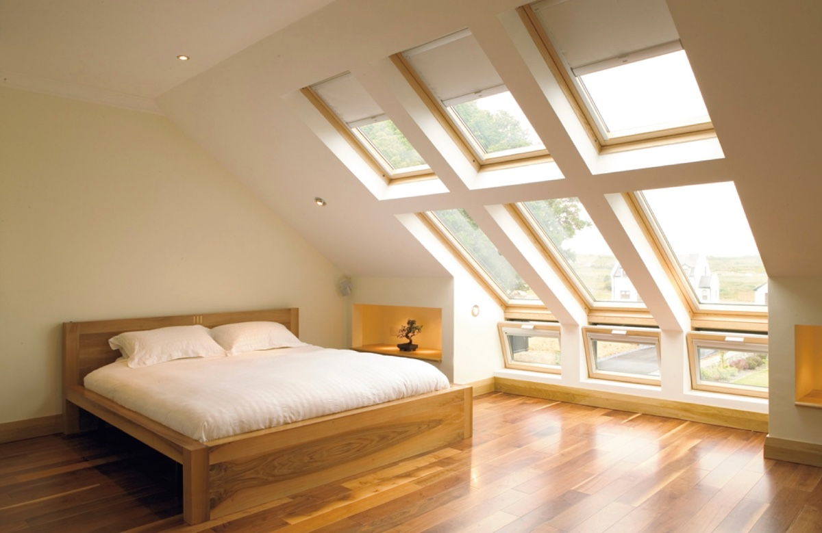 Simple Attic Bedroom Wood Bed White Sheets Manzanita Tree - 25 amazing attic bedrooms that you would absolutely enjoy sleeping in