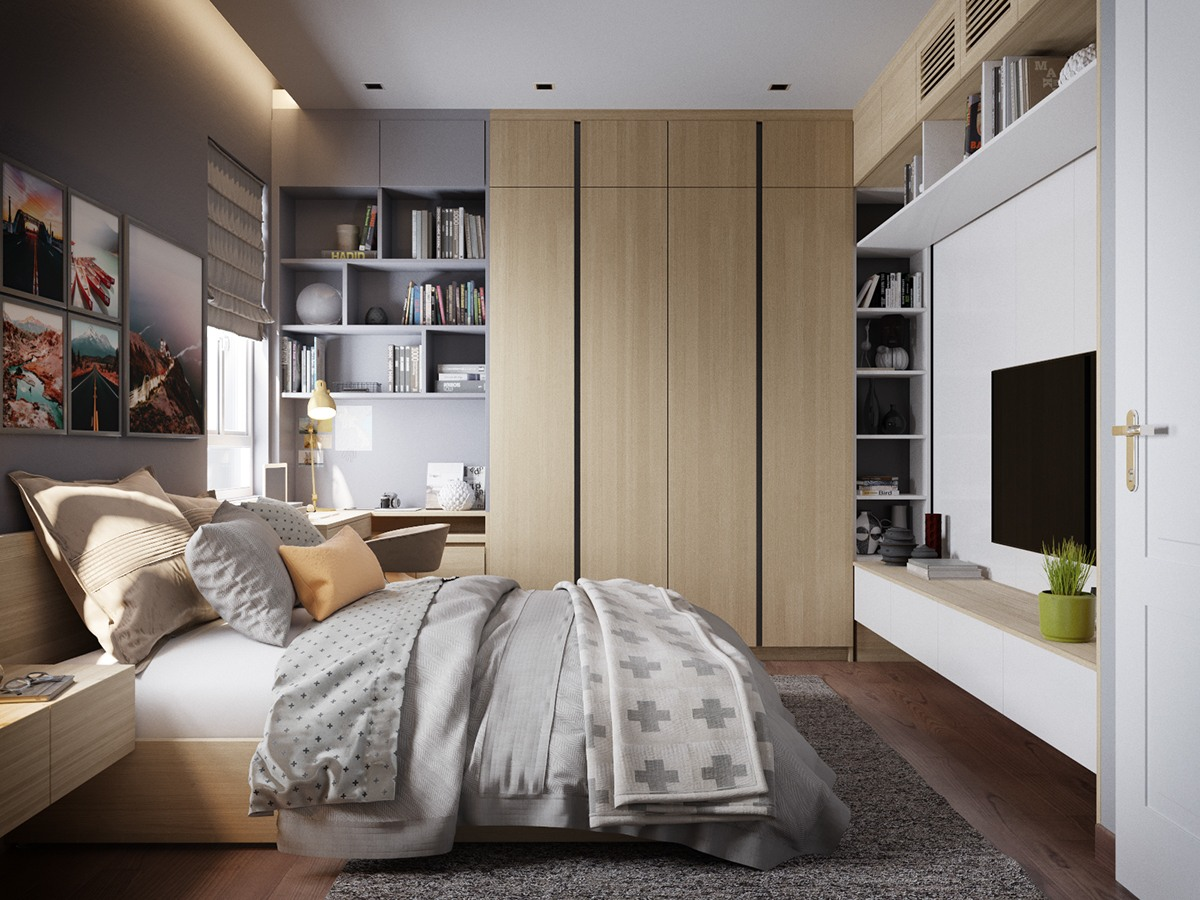 & Grey Bedrooms: Ideas To Rock A Great Grey Theme
