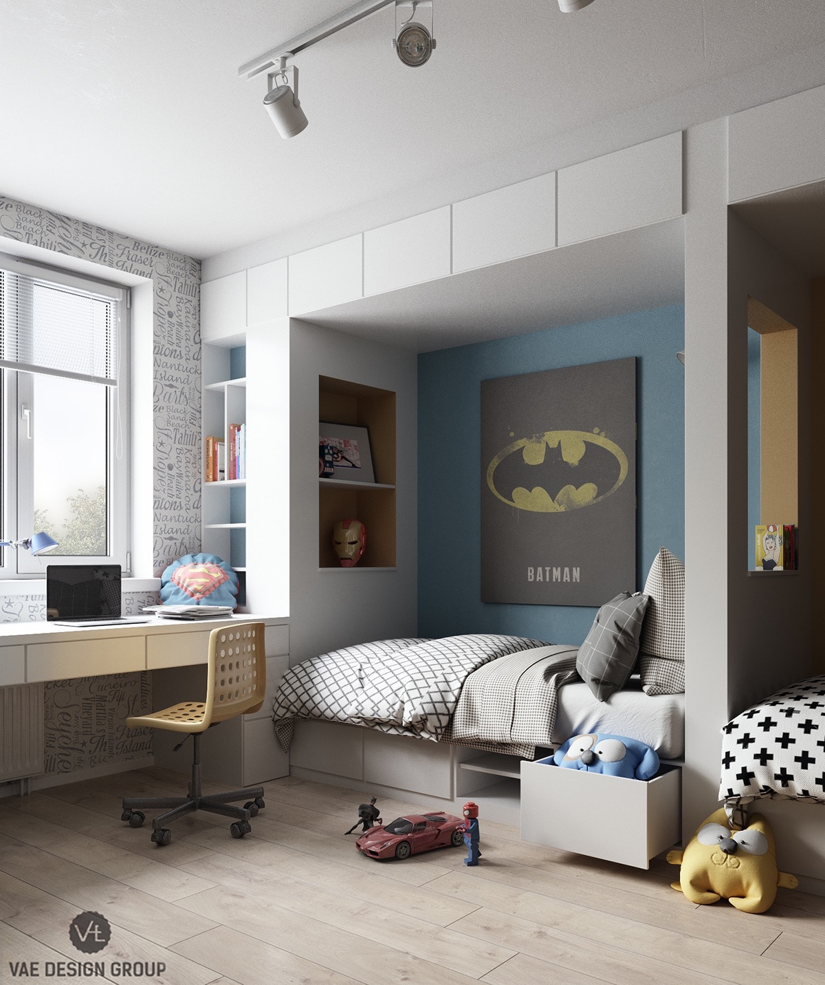 World Of Interiors: Inspiring Modern Bedrooms For Kids: Colorful, Quirky,  And Fun