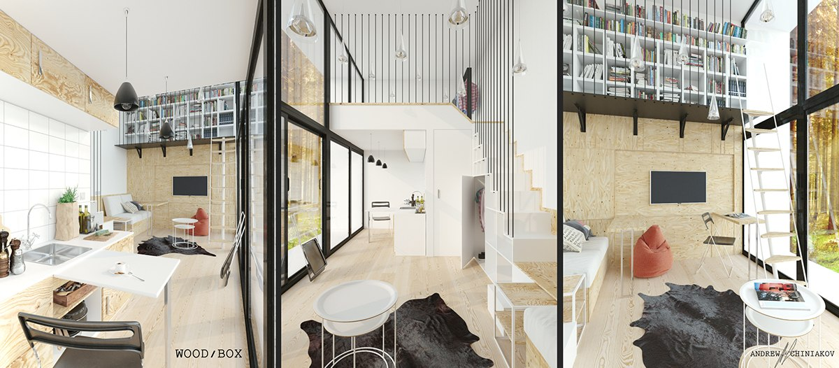 loft home design. 18  Small Homes That Use Lofts To Gain More Floor Space