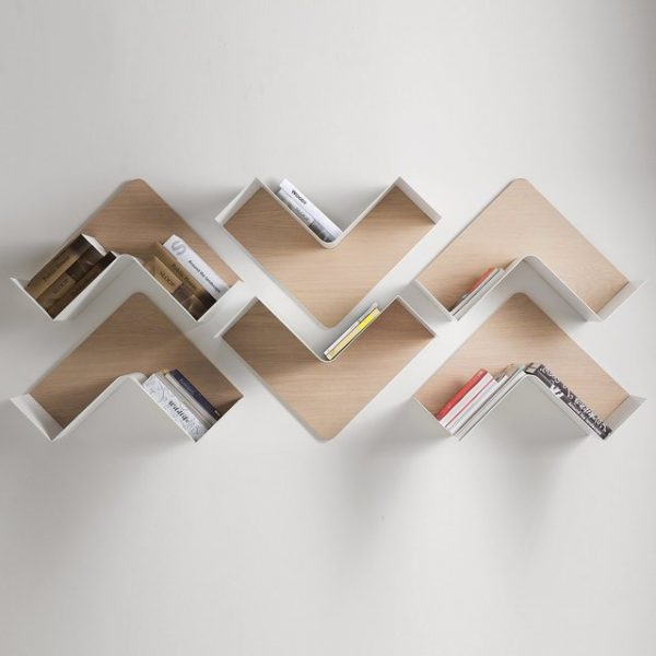 31 unique wall shelves that make storage look beautiful for Creative shelf ideas