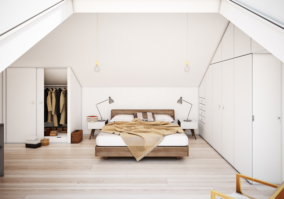 25 amazing attic bedrooms that you would absolutely enjoy for Style minimaliste