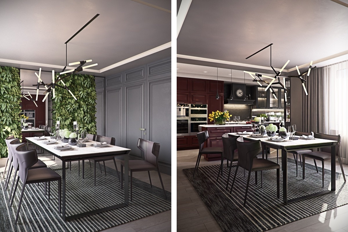 coffee-bean-leather-dining-chairs-dual-sided-living-wall-understated-luxury