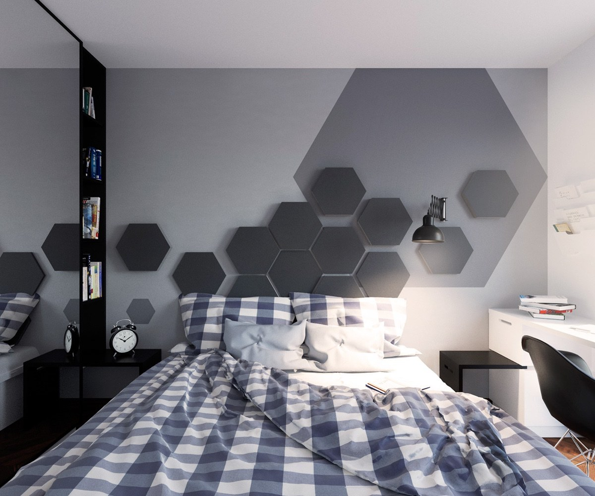 5 simple and achievable scandinavian apartment designs - Simple bedroom full set ...