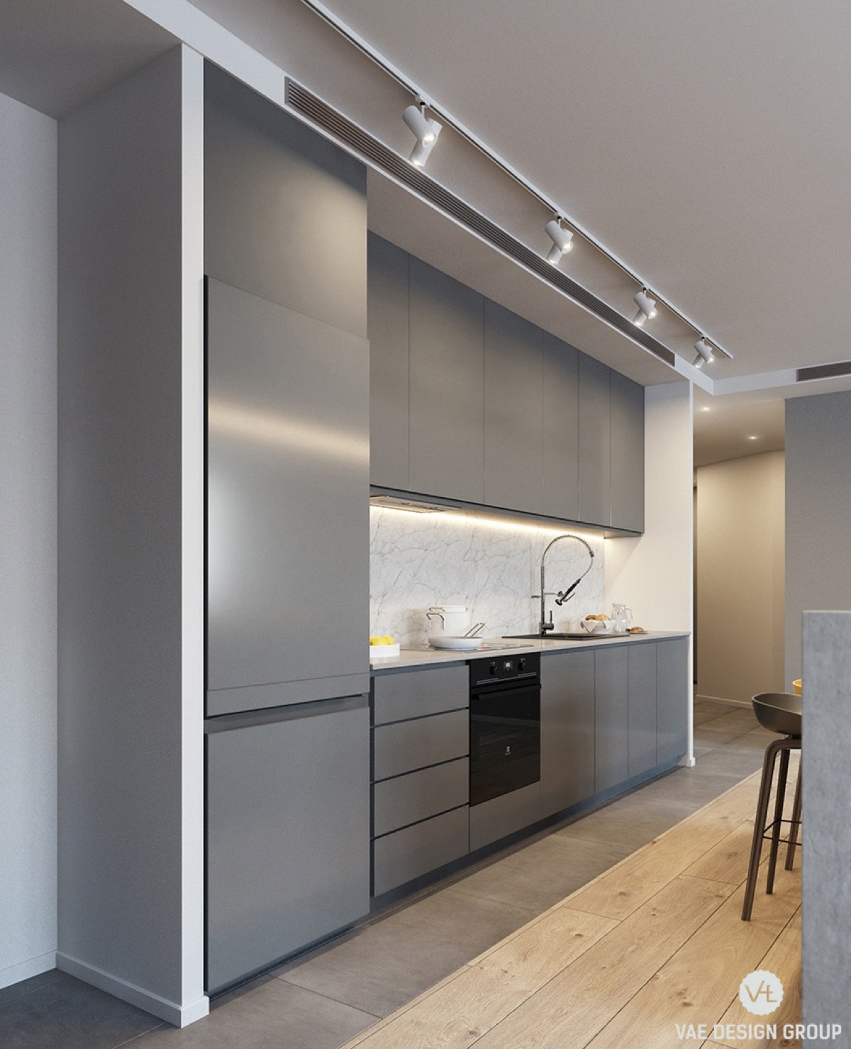 grey-panelled-kitchen-clean-minimalistic
