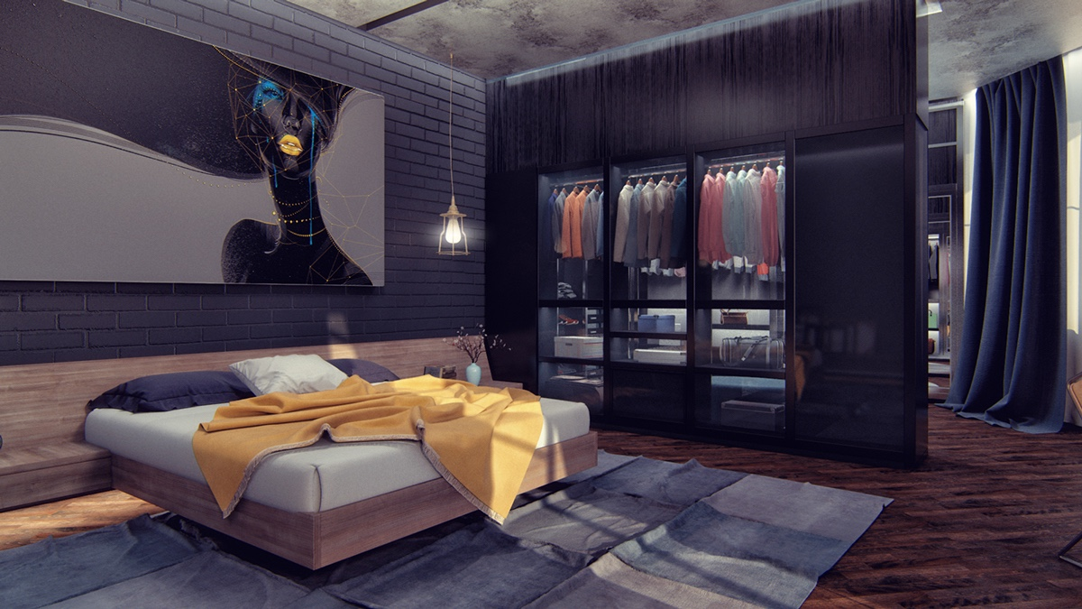 dark bedroom How to Bring Inspiration Into Your Dreams With Dark Bedroom amazing dark bedroom closet