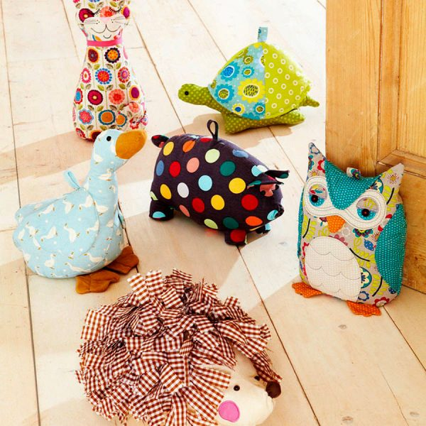 40 decorative doorstops that leave the door open for for Door stop idea