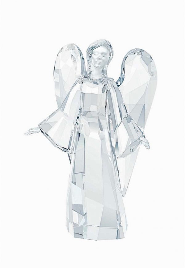Swarovski Angel Statue: Add bling to your mantelpiece with this Swarovski-carved angel. Shimmering in Christmas lights, she will delight any gathering.