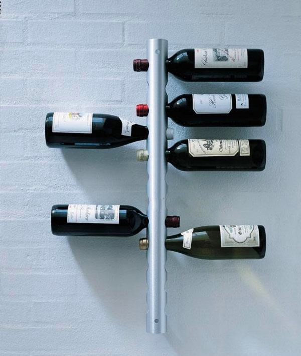Wall Mounted Metal Wine Rack 40 unique wine racks & holders for storing your bottles with style