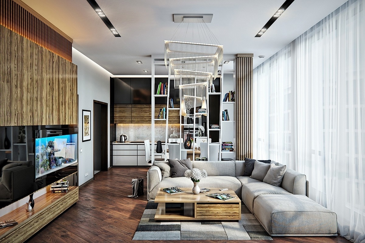 Mixed Era Living Room Design Inspiration - 30 living rooms that transcend design eras