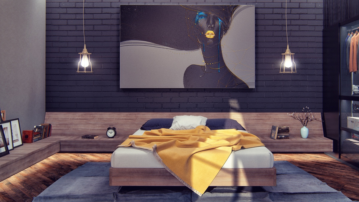 dark bedroom How to Bring Inspiration Into Your Dreams With Dark Bedroom modern dark bedroom