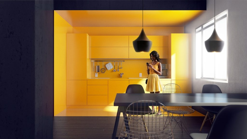 Orange And Yellow Kitchen Walls captivating yellow and orange kitchen images - today designs ideas