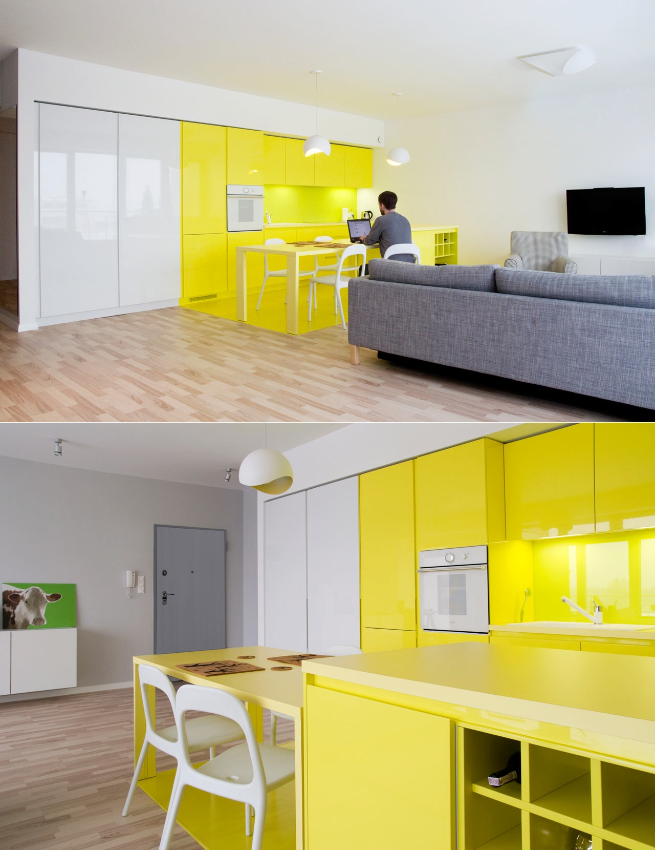 Yellow Kitchen Ideas Part - 50: Interior Design Ideas