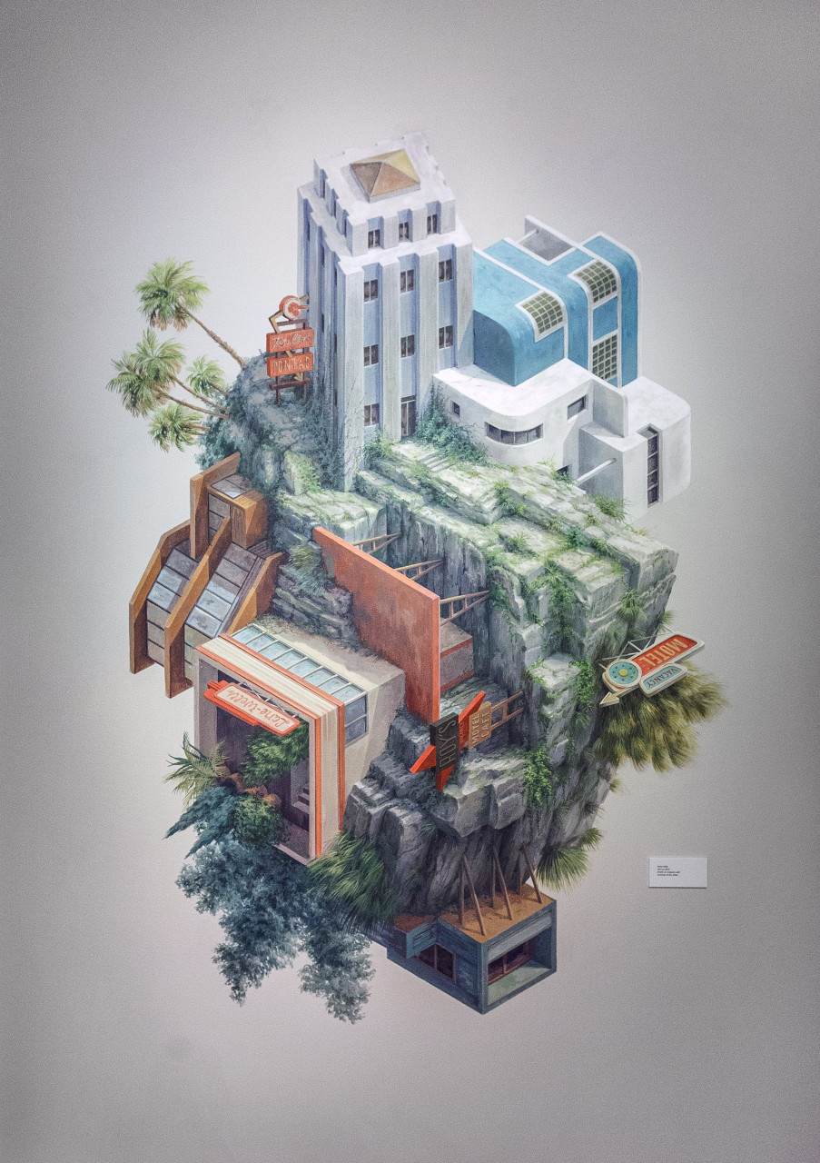 Surreal Architectural Illustrations By Cinta Vidal Agull 243