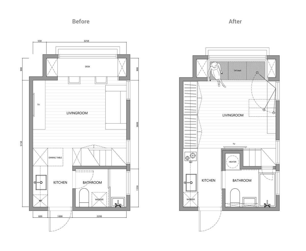 2 super tiny home designs under 30 square meters includes for Home design 84 square metres