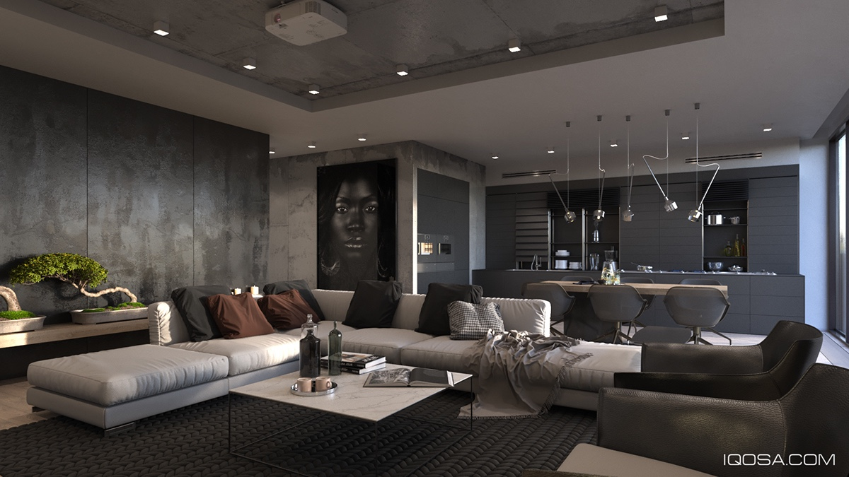 Inspiring Examples Of Use Grey In Luxury Interior Design