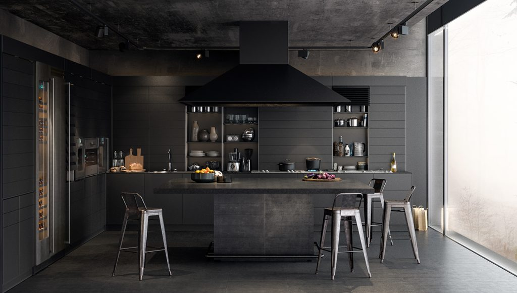 Dark Modern Kitchen 36 stunning black kitchens that tempt you to go dark for your next