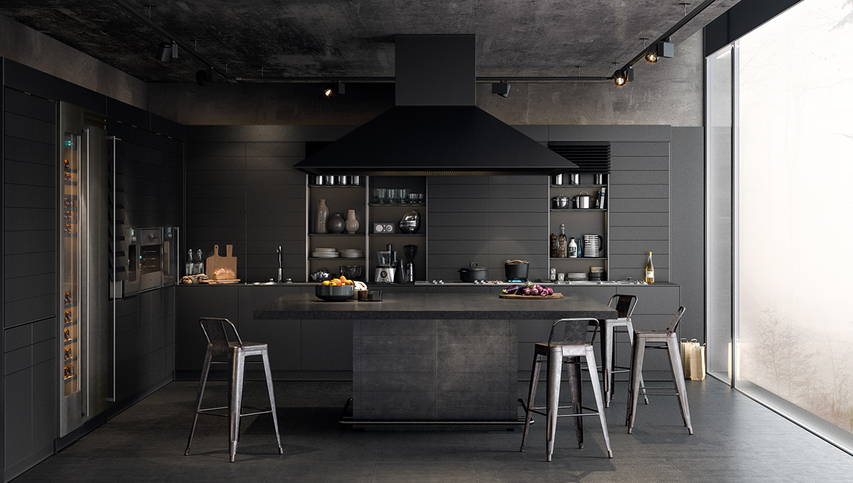 Black Modern Kitchen 549 best k i t c h e n / d i n i n g images on pinterest | kitchen