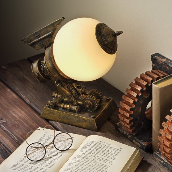 Steampunk Style Home Decor Items Celebrating the Mechanical Side of Life