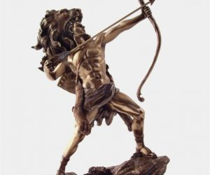 Statue Of Heracles, The Greatest Of Greek Heroes: Anything but a mere mortal, Heracles, or his better-known Roman counterpart Hercules, was a human that rose to prominence with the gods. Perfect for your library or gym area, he can inspire your gym routine to greatness.