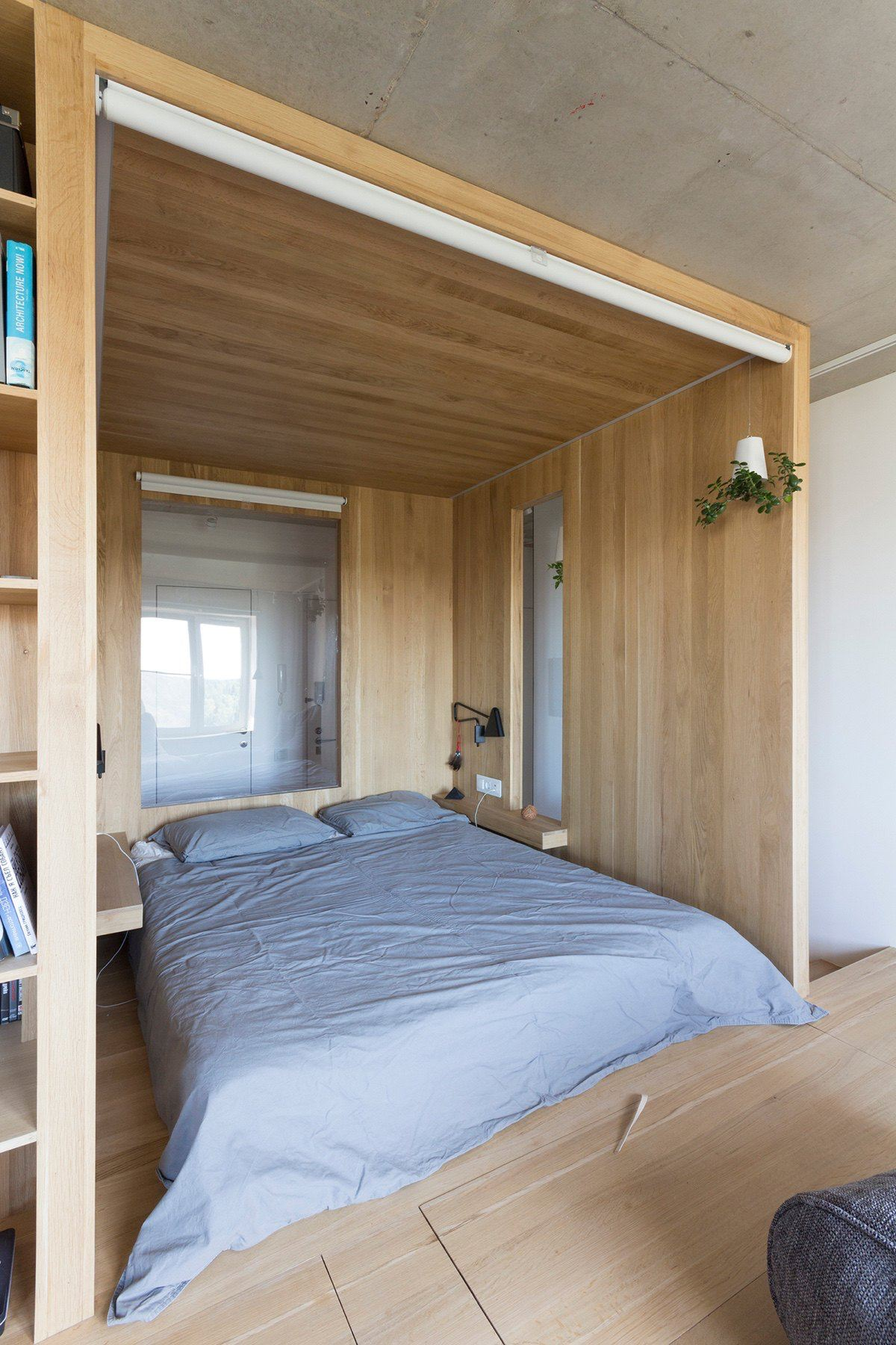Super Small Studio Apartment Under 50 Square Meters
