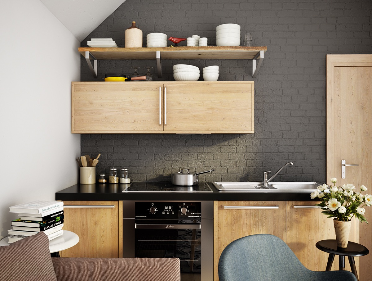 36 Stunning Black Kitchens That Tempt You To Go Dark For Your Next Remodel Part 35