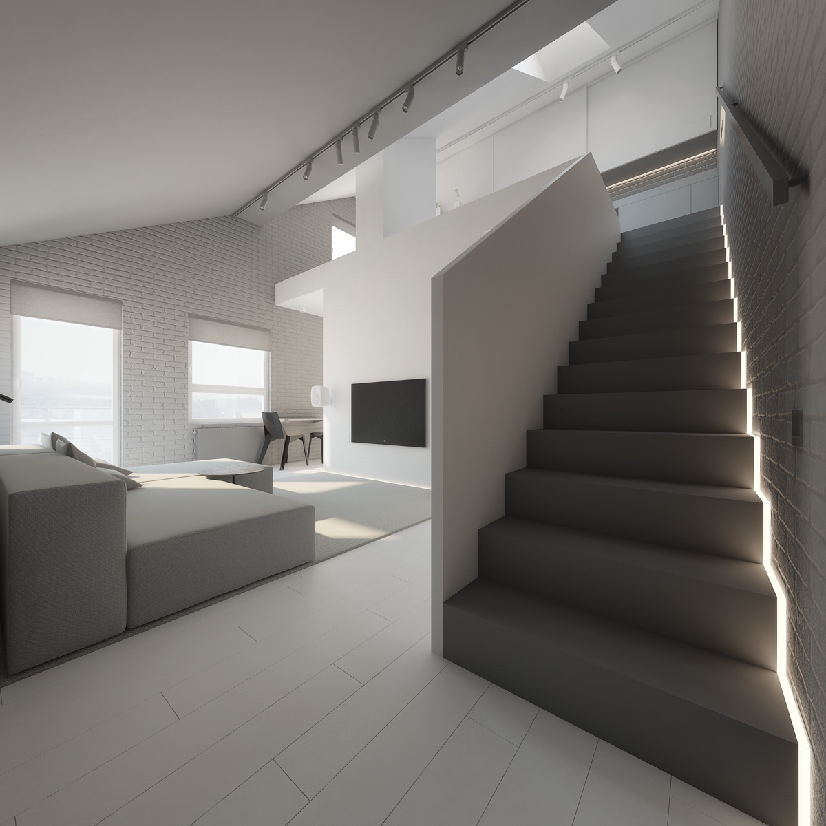 3 Light White And Minimalist Homes Inspiring Clarity Of