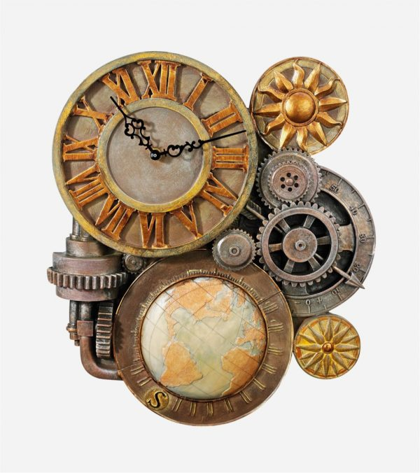 Awesome  Steampunk Style Home Decor Items Celebrating the Mechanical Side of Life