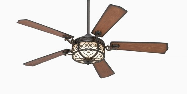 50 unique ceiling fans to really underscore any style you choose for your room - Rustic Ceiling Fan