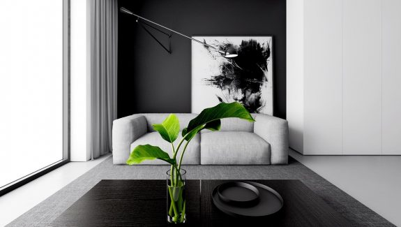 4 Monochrome, Minimalist Spaces Creating Black and White Magic