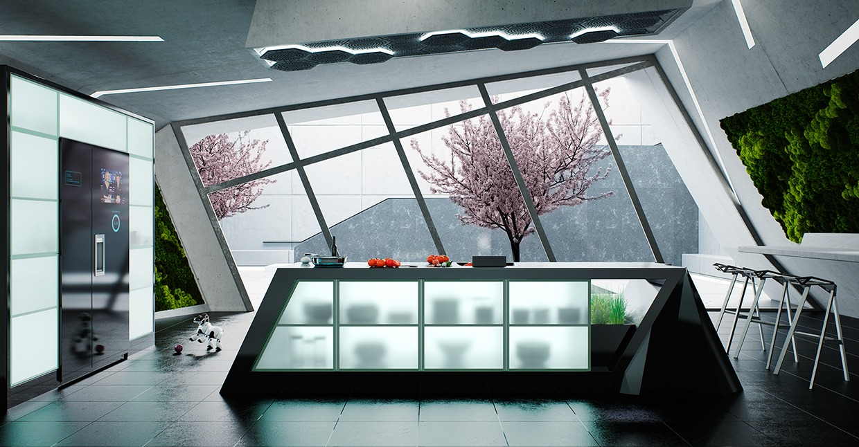 Modern Kitchen 50 Modern Kitchen Designs That Use Unconventional Geometry