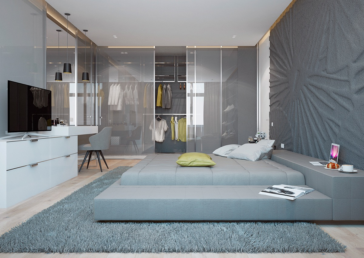 Bedroom Design Ideas Grey 42 gorgeous grey bedrooms