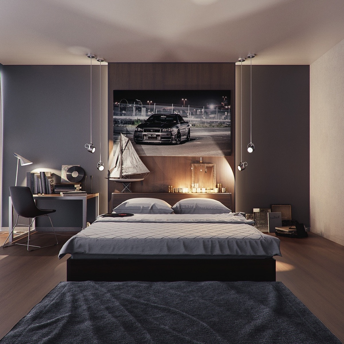 42 gorgeous grey bedrooms - Grey Bedrooms