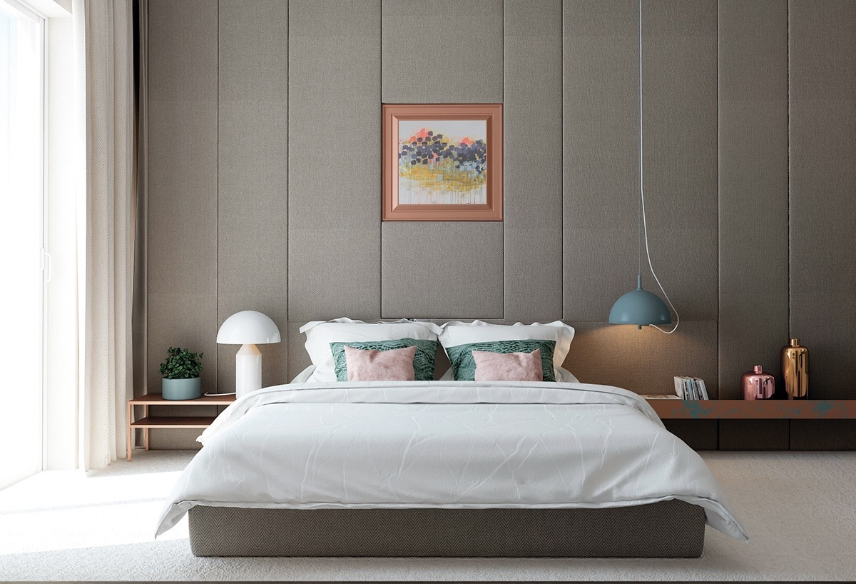 42 gorgeous grey bedrooms for Dormitorios modernos