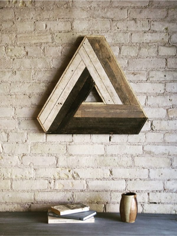 Wood Wall Art 50 wooden wall decor art finds to help you add rustic beauty to