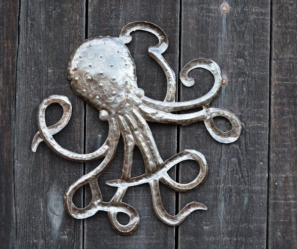 BUY IT · Octopus Metal Wall Art: ...