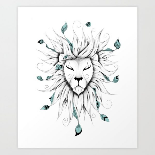 50 amazing art prints of lions for your walls - Things to put on a wall ...
