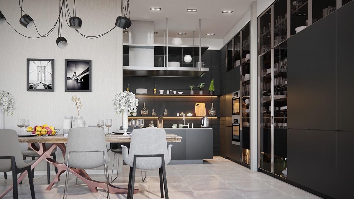 Delicieux 36 Stunning Black Kitchens That Tempt You To Go Dark For Your Next Remodel