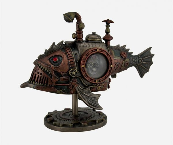 50 Steampunk Style Home Decor Items Celebrating The Mechanical Side
