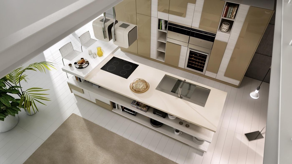 Unique Kitchen Design 50 modern kitchen designs that use unconventional geometry