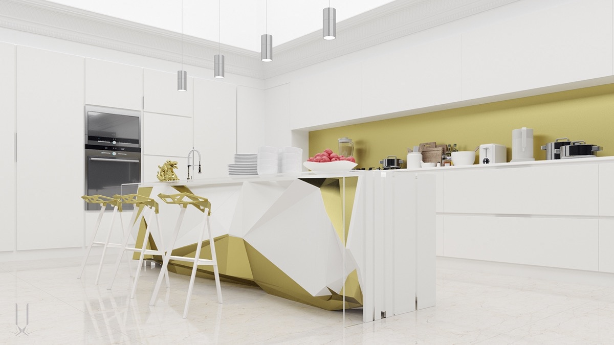 Simple Modern Kitchen 50 modern kitchen designs that use unconventional geometry