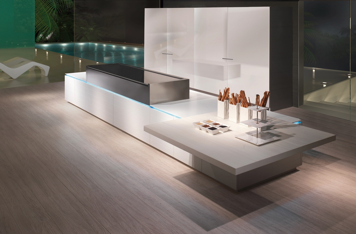 Modern Kitchen Designs That Use Unconventional Geometry - Kitchen designs sa