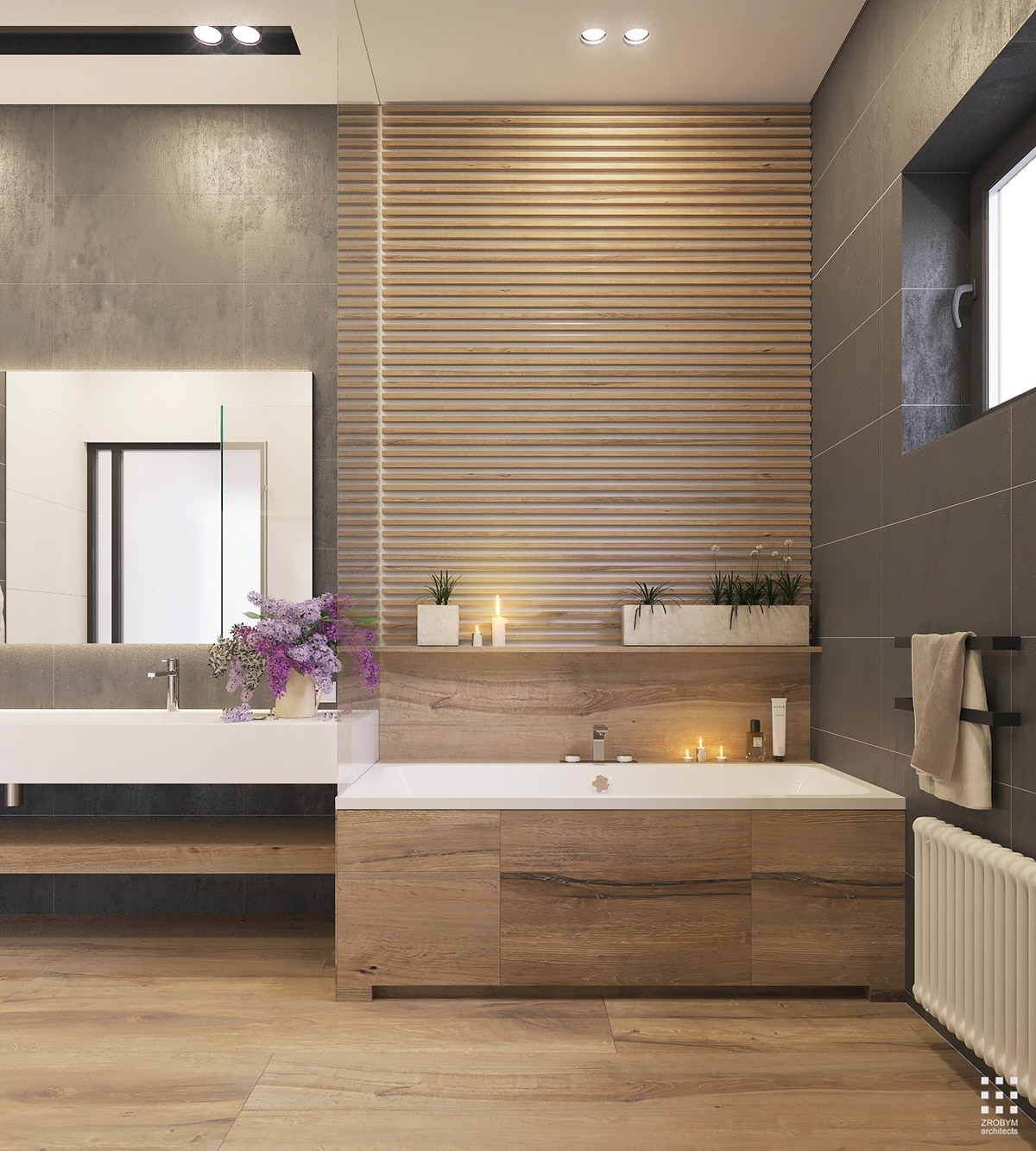 Modern Homes Modern Bathrooms Designs Ideas: An Organic Modern Home With Subtle Industrial Undertones