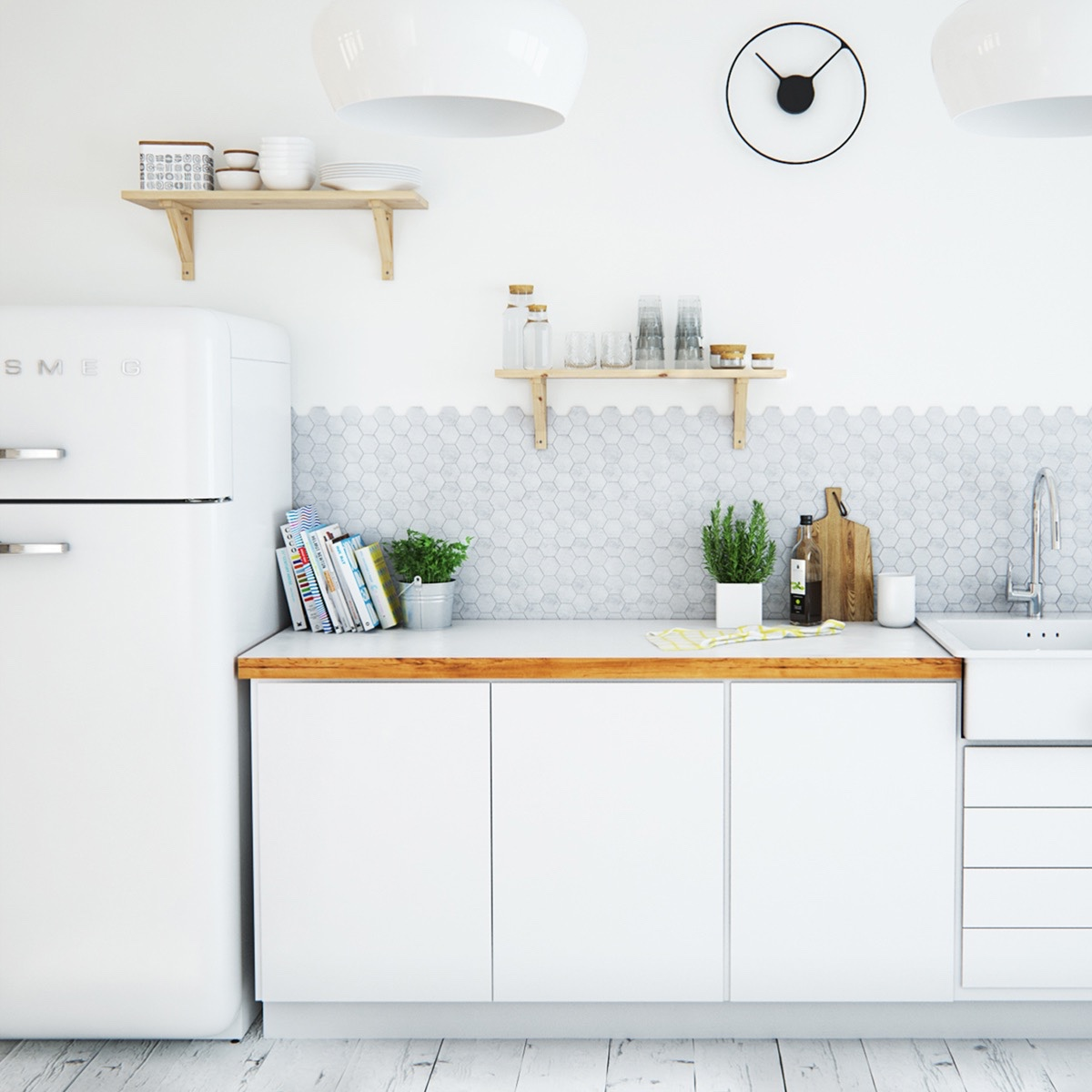 Scandinavian kitchens ideas inspiration assess myhome for Scandinavian kitchen backsplash