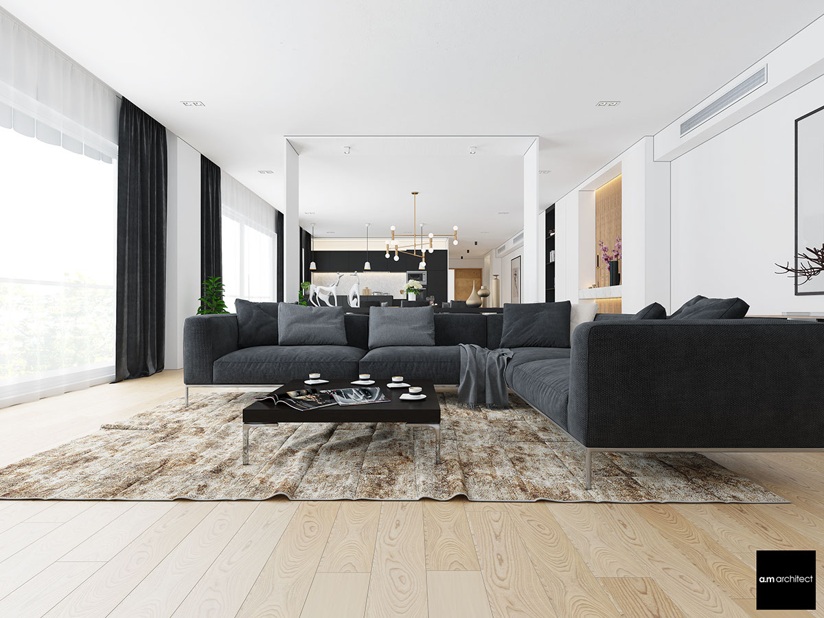 Modern Minimalist Home Design two modern minimalist apartments with subtle luxurious details