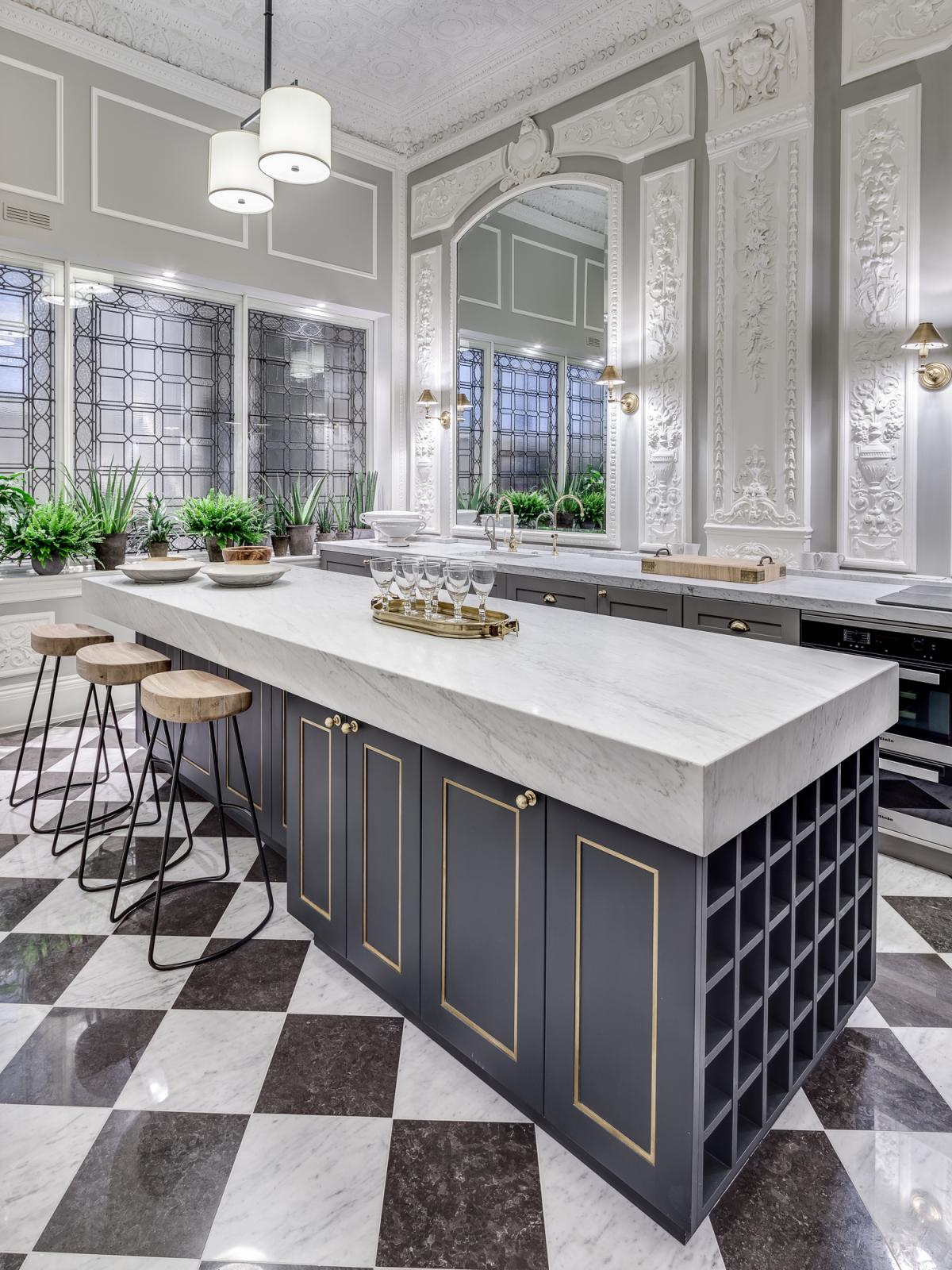 36 marvellous marble kitchens that spell luxury - Marble Kitchen Design
