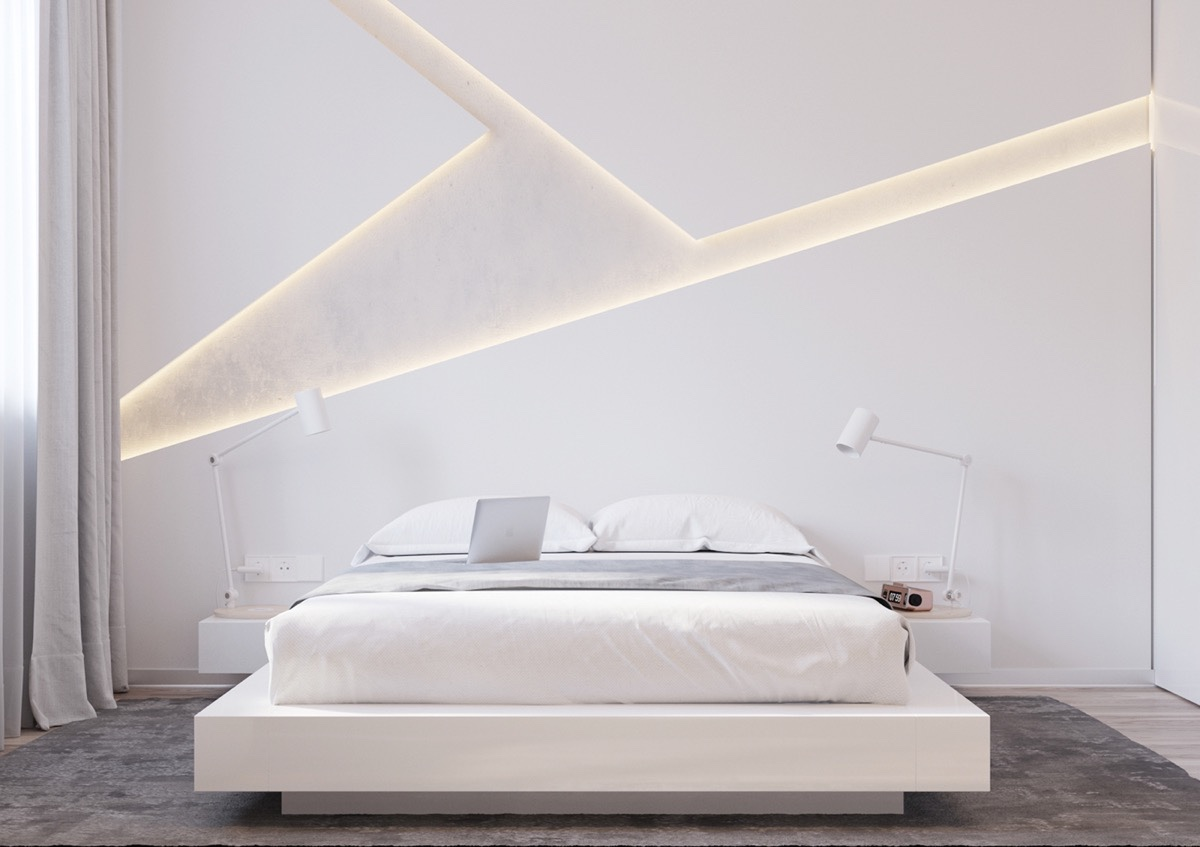 40 Serenely Minimalist Bedrooms To Help You Embrace Simple forts