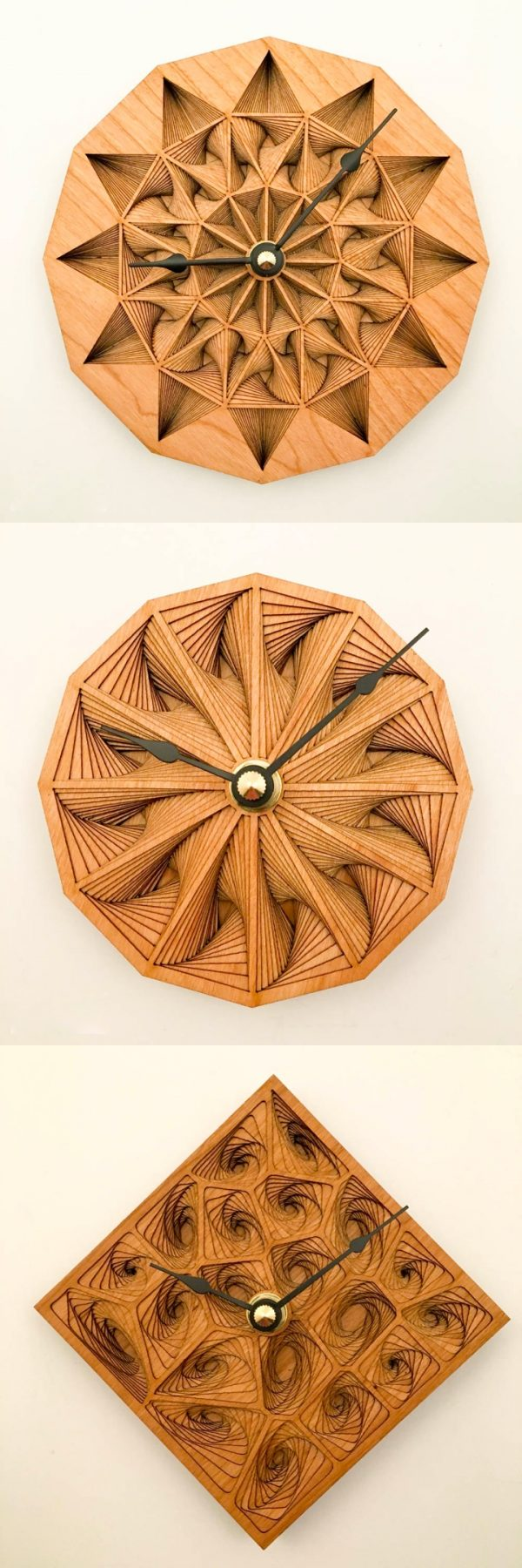 34 wooden wall clocks to warm up your interior amipublicfo Image collections