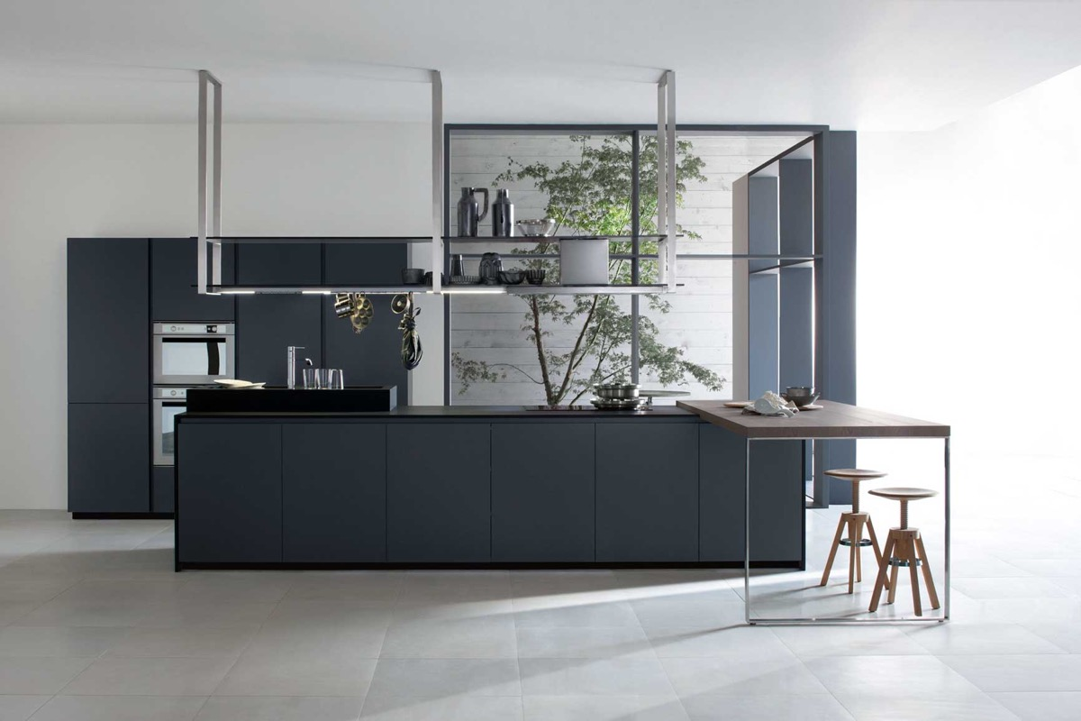 charcoal kitchen cabinets.  40 Gorgeous Grey Kitchens