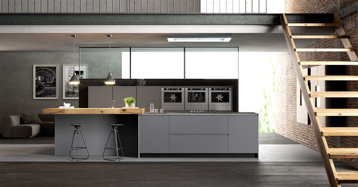 beautiful Beautiful Grey Kitchens Part - 19: Interior Design Ideas